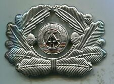 East German DDR Officer Visor Hat Cap Insignia Badge