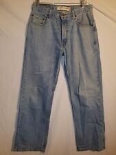 Levis 569 Loose Straight Leg Mens Jeans Tag 30x32 GUC Distressing #186