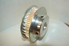 "CNC SERVO or STEPPER MOTOR DRIVE PULLEY 30T 1/2"" .2p AL"