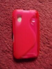 Samsung Galaxy Ace s5830 s line style hot pink case