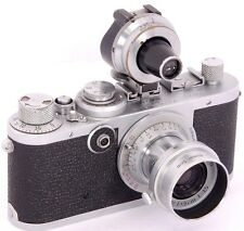 Leica IF 1953 + LEITZ Elmar 1:3.5 f=5cm RED Scale Set + VIOOH Multi-Focal Finder