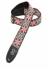"Levy's M8HT-12 2"" Jacquard weave Poly Guitar Strap"