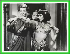 "AMANDA BARRIE & KENNETH WILLIAMS in ""Carry on Cleo"" Original Vintage Photo 1964"