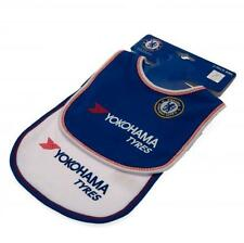 Chelsea FC 2015/16 Authentic EPL Baby Bibs 2 Pack