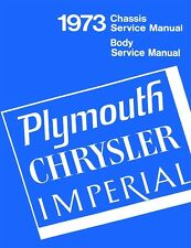 1973 Chrysler Plymouth Shop Service Repair Manual Engine Drivetrain Electrical