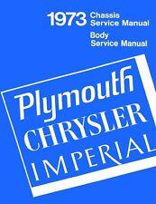 1973 Chrysler Plymouth Shop Service Repair Manual Engine Drivetrain Electrical