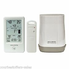 AcuRite Rain Gauge Wireless Outdoor Thermometer Humidity Meter Humidity Sensor