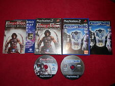 PRINCE OF PERSIA WARRIOR WITHIN & FIGHTBOX BUNDLE PLAYSTATION 2 PS2 PAL VGC