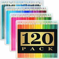 120 Colored Pencils (GIANT EXTRA LARGE SET) - 120 Unique Colors (NO DUPLICATE...