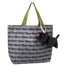2016 Japan Brand TSUMORI CHISATO Recycle Handcarry Shopping Bag with Black Cat