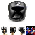 New Black Trainning Helmet Good Headgear Head Guard Kick Boxing Pretection Gear