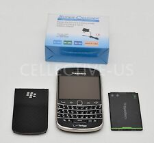 Mint Used BlackBerry Bold 9930 Unlocked Verizon GSM 8GB Black Qwerty Smartphone.