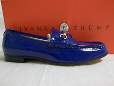 Ivanka Trump Size 6 M West Dark Blue Patent Leather Loafers New Womens Shoes