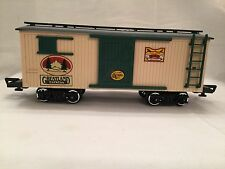 """New Bright 1986 Model Railroad Track G Scale """"Greatland Express""""FREIGHT CAR RARE"""
