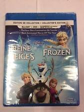 Blu-ray / DVD Disney Frozen Collector's Edition: Kristen Bell Idina Menzel Groff