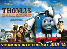 THOMAS THE TANK ENGINE THE MAGIC RAILROAD movie poster - 12 x 16 inches