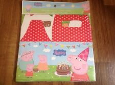 NEW PEPPA PIG & FAMILY 30 PC PARTY FAVORS CANDY  TREAT BOXES TO USE AS LOOT BAGS