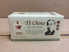 TE CHINO DEL DR MING 60 bags* 1 Boxs sliming tea diet detox fatburner weightloss