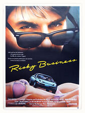 Affiche 40x60cm RISKY BUSINESS 1983 Tom Cruise, Rebecca De Mornay NEUVE #