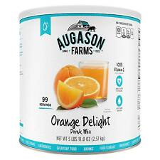 Augason Farms Emergency Food Orange Delight Drink Mix 98 oz