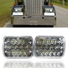 2x LED Headlights for Kenworth T400 T600 T800 W900B W900L Classic 120/132