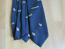 AEROPLANE Monthly Tie Made in West GERMANY with BOMBER & Cow Logos  SEE PICTURES