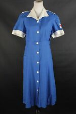 VTG Women's WWII American Red Cross Canteen Corps Uniform 1940s 40s #1291 WW2