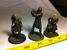 Shagrat Orc Uruk Hai Lord of the Rings LOTR Metal Figures Collectable Bundle