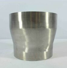 """7"""" - 6"""" Stainless Pipe Chimney Flue Lorry Stack Van Exhaust Connector Joiner"""