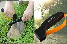 EDC Outdoor Knife Sharpener Sharpening Tool, Survival Hunting Gardening Camping