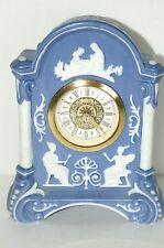Vintage Blue Jasperware Clock Made In West Germany