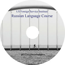 Russian Audio Language Course FSI for Diplomats-complete MP3 Audio on 1 CD