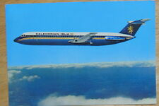 Postcard of Caledonian BAC 1-11 from 1980s Unposted, VGC Aeroplane