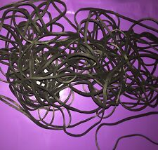 "50 EPDM X-Treme Black Rubber Bands - UV & Ozone Resistant-117B  7"" x 1/8"""