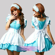 Sexy Alice Halloween Costumes French Maid Princess Cosplay Fancy Dress Uniform