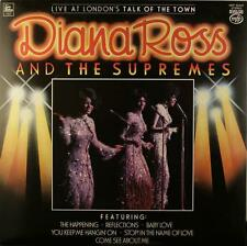 DIANA ROSS 'Live At London's Talk Of The Town' (MFP 50447) Vinyl LP. UK - NM/EX