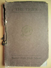 1919 THE TIGER - Beaver Falls High School Yearbook - Pa