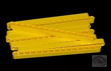 LEGO Technic - 9 x Studless Beams - 15L - Yellow - Liftarms - New - (NXT, EV3)
