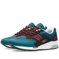 Mens New Balance 1600 DK Elite UK Size 10 Trainers // Teal Black Maroon 998 1500
