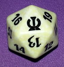 1 White SPINDOWN Die Theros, 20 sided Spin Down Dice MtG Magic the Gathering d20