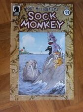 SOCK MONKEY VOL 4 No 1 TONY MILLIONAIRE VERY FINE/NEAR MINT (F42)