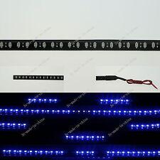 Blue 1FT 12' 30CM 32 Led Knight Rider Strobe Scanner Flexible Strip Light M008
