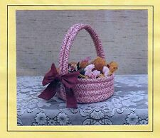Country Basket (2 sizes) Craft Project UNCUT Sewing Pattern