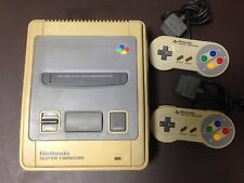 Acceptable SNES Super Famicom Console with 2 x controller JP System Import Japan