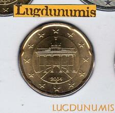Allemagne 2004 20 centimes G Karlsruhe BU FDC provenant coffret 106000 exemplair