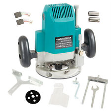 "Electric Plunge Router Wood Cutting Machine 24000 rpm 1/4"", 3/8"", 1/2"" 1850W 3HP"