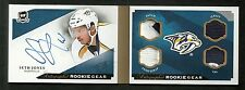 2013-14 The Cup SETH JONES Autographed Rookie Gear Patch Autograph Tag #20/25