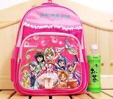 """Pichi Pichi Pitch Mermaid Melody Nylon Girls 15"""" Backpack - Pink"""