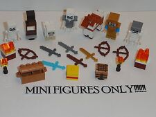 NEW LEGO 21127 Minecraft Mini Figure Lot Steve Gold Armor Horse Sheep Fortress