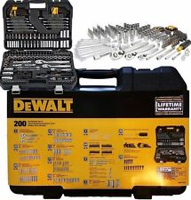 New DeWalt 200 Piece Mechanics Tool Set Model # DWMT75000